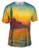 "Claude Monet - ""Venice Twilight"" -Tagless- Mens Shirt-Medium"