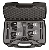 Shure Performance Gear PGDMK6-XLR set de micros batterie