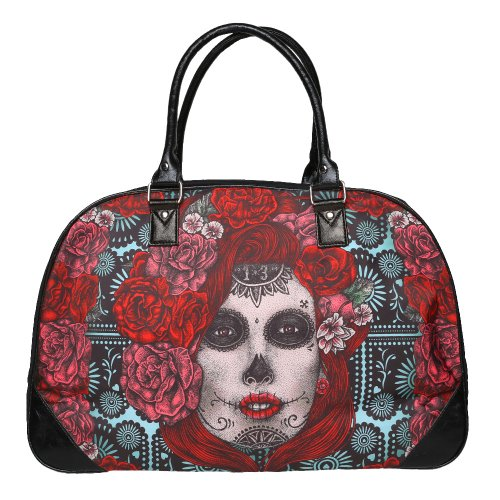 Lucky 13 Lady Muerta Travel Bag