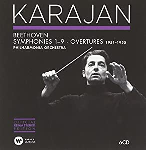 Beethoven: Symphonies & Overtures 1951-1955 (Karajan Official Remastered Edition)