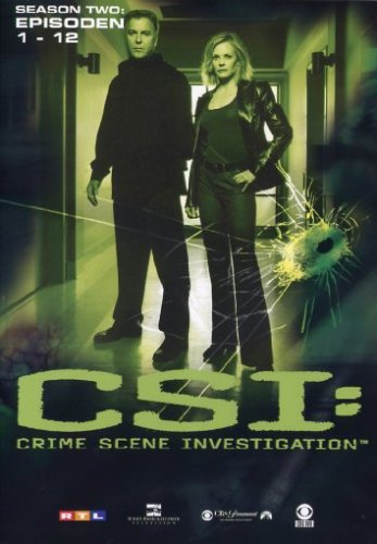 CSI: Crime Scene Investigation - Season 2.1 (Amaray) [3 DVDs]