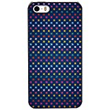 Inktree Back Cover For Apple IPhone 5\ 5s (Black, Ink_i5_406)
