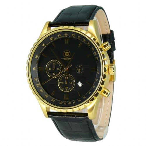 constantin-durmont-mens-quartz-watch-cd-deto-qz-lt-gdgd-bk-with-leather-strap