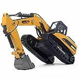 HuiNa Cis-1580 RC Construction, Yellow (Color: Yellow)