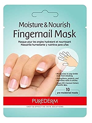 Purederm Fingernail Mask(Moisture) 6 Sheets