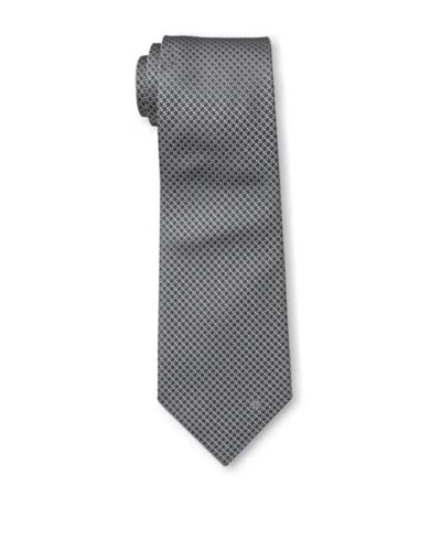 Givenchy Men's Dotted Tie, Grey
