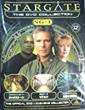 STARGATE(スターゲイト) THE DVD COLLECTION SG・1-No.12