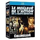 Le Meilleur de l'action en haute définition : L'agence tous risques + Colombiana + Unstoppable [3 Blu-ray]