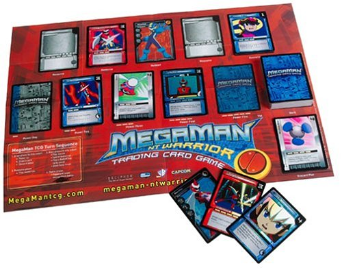 Mega Man NT Warrior Trading Card Game Grand Prix Starter Deck Protoman Hero - 1