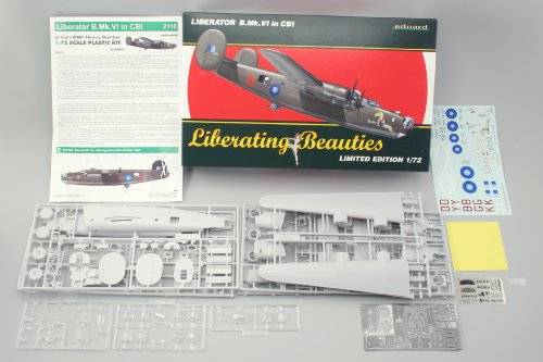 Eduard 1/72 Consolidated Liberator B. Mk.VI in CBI EDK2110