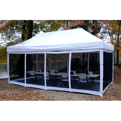 King Canopy EPA1PBS20WH 10-Feet by 20-Feet Bug