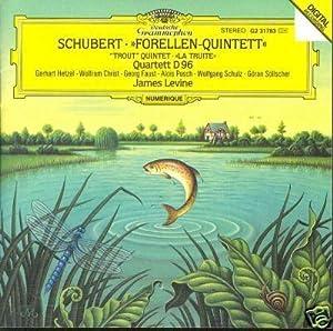 """ForellenQuintett """"Trout"""", La Truite Quartett D96"""