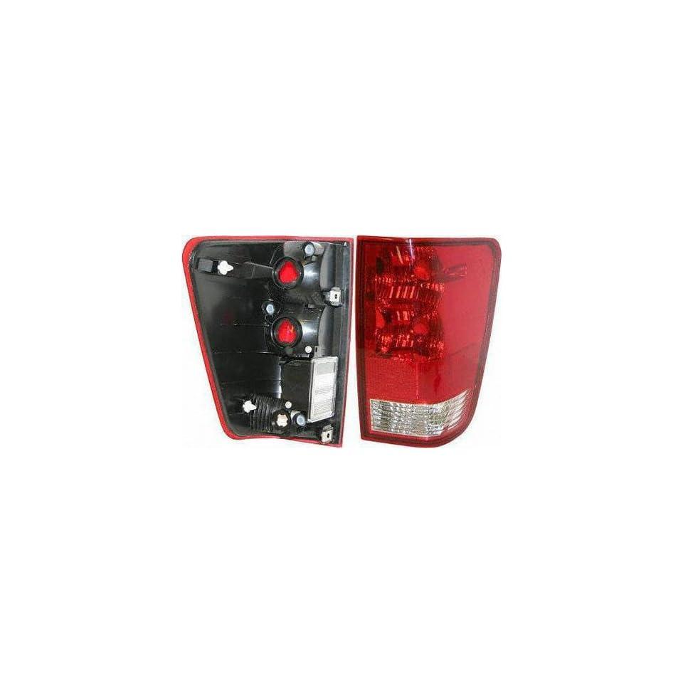 04 05 NISSAN TITAN TAIL LIGHT RH (PASSENGER SIDE) TRUCK, Assy, w/ Utility Compart (2004 04 2005 05) N730127 26550ZH226