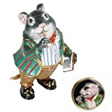 Hidden Treasures Trinket Box - Wind In The Willows Ratty