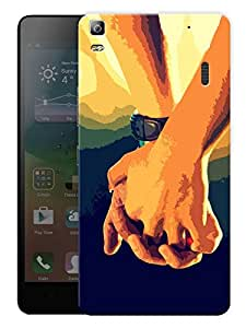 """Humor Gang Let'S Spend Our Life Together LovePrinted Designer Mobile Back Cover For """"Lenovo K3 Note - Lenovo a7000 - A7000 Plus - A7000 Turbo"""" (3D, Matte, Premium Quality Snap On Case)"""
