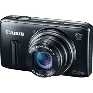 Canon PowerShot SX260 HS 12.1 MP Picture