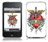 Music Skins iPod Touch 8GB (第2世代) / 32GB 64GB (第3世代) 用フィルム  Bon Jovi - Heart & Dagger  iPod Touch 8GB (第2世代) / 32GB 64GB (第3世代)   MSRKIPT20214