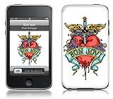 Music Skins iPod Touch 8GB (第2世代) / 32GB 64GB (第3世代) 用フィルム  Bon Jovi - Heart & Dagger  iPod Touch 8GB (第2世代) / 32GB 64GB (第3世代)   MSRKIPT20214