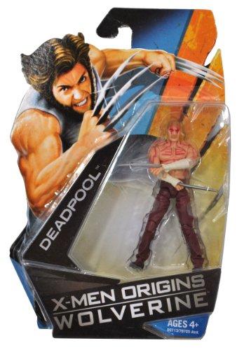 Buy Low Price Hasbro X-Men Origins Wolverine Movie Series 4 Inch Tall Action Figure – DEADPOOL (B003141APG)