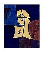 Especial Arte Lienzo Giardino in alto - Klee Paul Multicolor