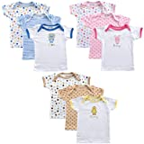3-Pack Slip-On Baby Shirts (Hanging)