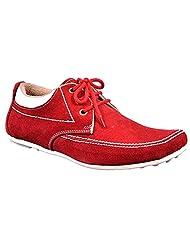 Aureno Men's Suede Sneakers - B011BGT6JM