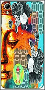 Snoogg Buddha The Future Designer Protective Back Case Cover For HTC Desire 826