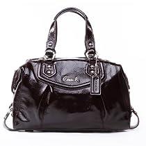 5527e6d1f6 Lowprie Coach Ashley Patent Leather Satchel 20460 Mahogany - coach ...