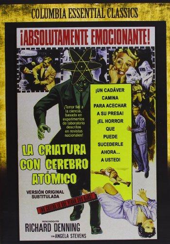 Clásicos: La Criatura con el Cerebro Atómico [DVD]