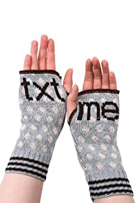 Green 3 Apparel Recycled Text Me Hand Warmers (Blue)