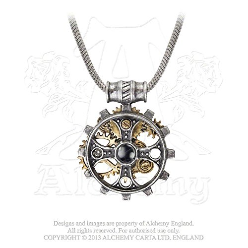 Foundryman's Ring Cross Symbol of the Old Faith Gothic Necklace