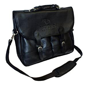NFL Tennessee Titans Debossed Black Leather Angler