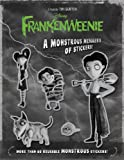 Frankenweenie: A Monstrous Menagerie of Stickers! (A Sticker-Activity Storybook)