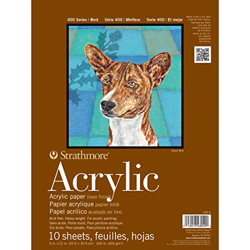 Strathmore 400 Series Acrylic Pads 9 in. x 12 in.