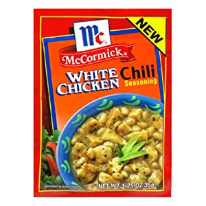 Amazon.com : McCormick Chili, White Chicken, 1.25-Ounce Units (Pack of ...