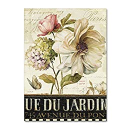 Trademark Fine Art Marche de Fleurs II Wall Decor by Lisa Audit, 18\