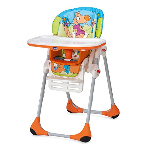 Chicco 6079065330000 - Seggiolone New Polly 2 In 1, Colore: Wood Friends