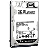 Western Digital 250 GB Scorpio Black SATA 3 Gb/s 7200 RPM 16 MB Cache Bulk/OEM Notebook Hard Drive – WD2500BEKT