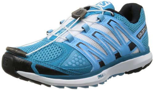 Salomon X SCREAM Scarpe da Corsa Running Trail Blu Bianco per Donna