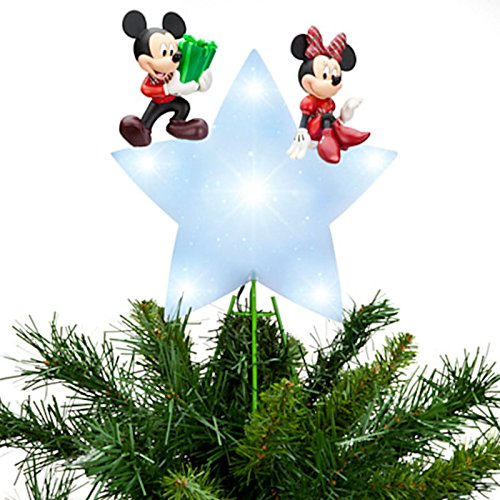 Mickey Christmas Tree Topper: Disney Christmas Decorations