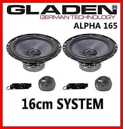 Gladen ALPHA 165 - 16cm Kompo-System Lautsprecher