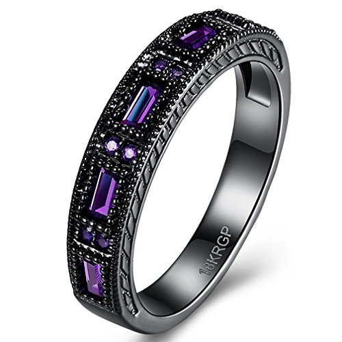 jewelry-womens-and-mens-created-purple-amethyst-diamonds-tungsten-stainless-steel-black-gold-plated-