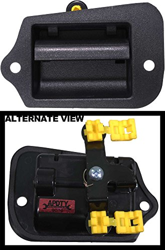 APDTY 85411 Interior Inside Door Handle Fits Rear Left 1996-2003 Chevy S10 GMC Sonoma (OE Plastic Design; Replaces GM 15760310, 19211052) (2007 Gmc Yukon Interior Parts compare prices)