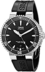 Oris Men's 73376764154RS Analog Display Swiss Automatic Black Watch
