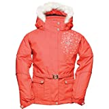 Dare 2b Ice Flake Girls Ski Jacket - Size: Age 5/6 - Height 117cm - Color: Raspberry