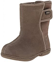 Baby Bogs HooDoo Leather Boot (Toddler),Cocoa,8 M US Toddler
