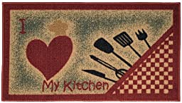 Anti-Bacterial Rubber Back Home and KITCHEN RUGS Non-Skid/Slip 18\