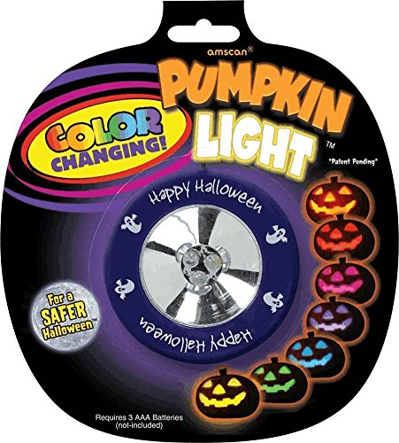 Amscan Color Changing Pumpkin Light