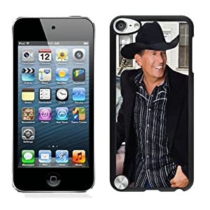 George Strait (4) Black Shell Case Fit for iPod Touch 5,Durable Cover from Kubbe