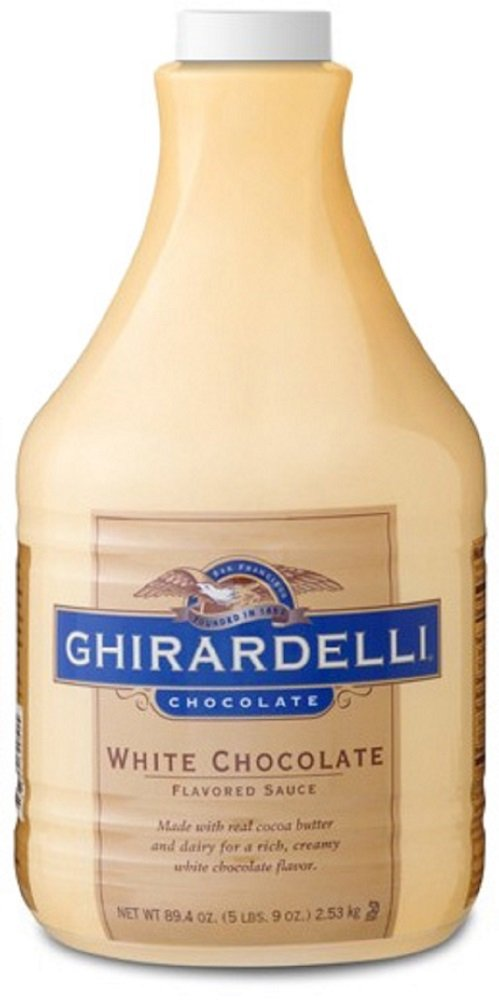 Ghirardelli Classic White Chocolate Flavored Sauce, 64 oz.